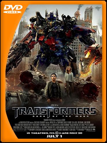 Transformers 3: El lado oscuro de la Luna (2011) DVDRip Latino