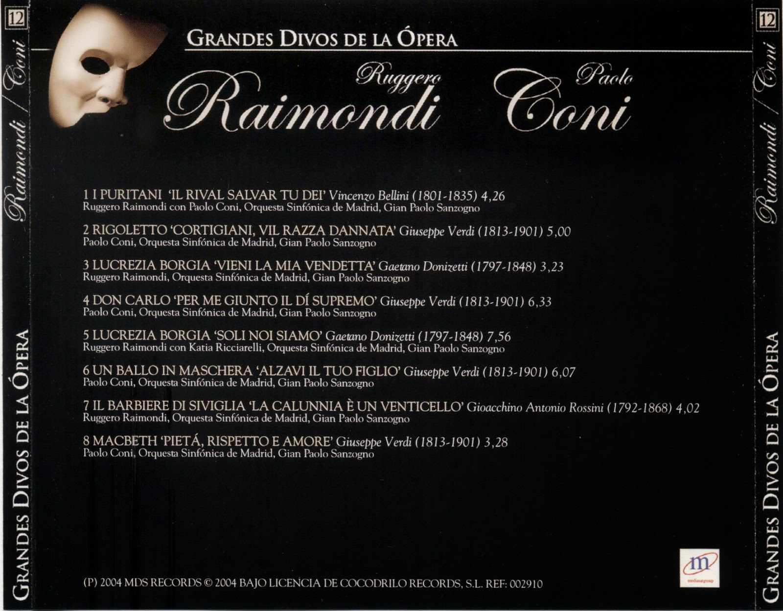 Grandes Divos de la Ópera-cd12.9-Paolo Coni & Ruggero Raimondi-carátula trasera