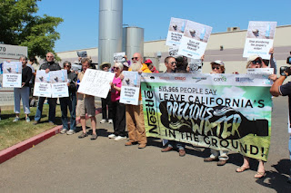 Protesters Converge on Nestlé Bottling Plants in Sacramento and LA