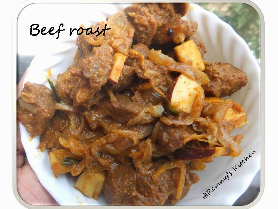 Beef olarthiyathu/Beef roast