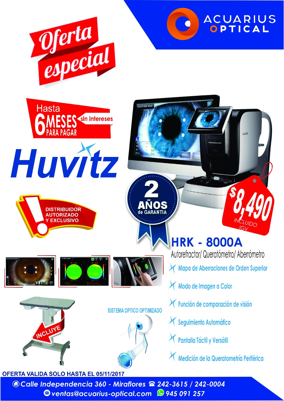 HUVITZ $ 8490 HASTA 6 MESES PARA PAGAR