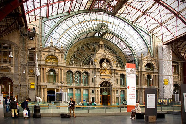 Antwerp Central Stationm, Belgium