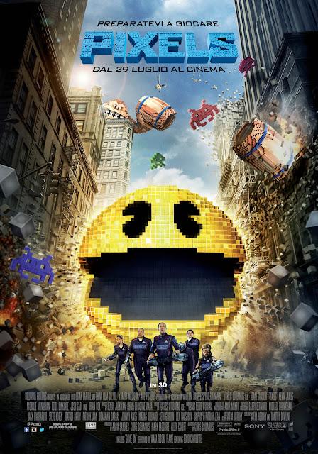 Pixels poster italiano recensione
