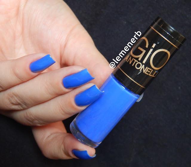 esmalte azul hits