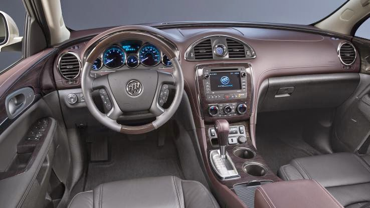2015 Buick Enclave review notes