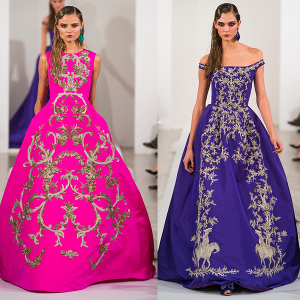 Oscar de la Renta Lookbook. Fall 2013
