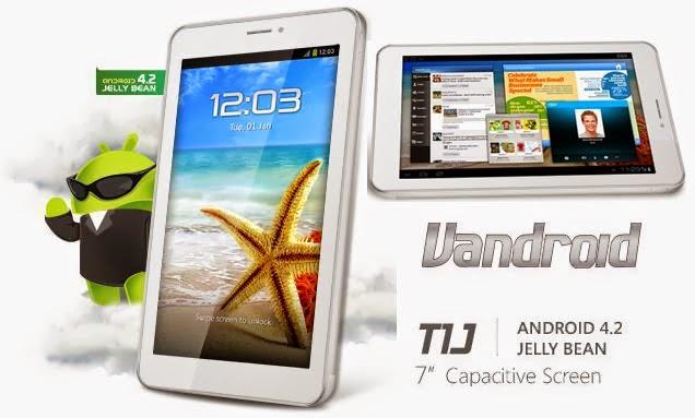 Spesifikasi Advan Vandroid T1J