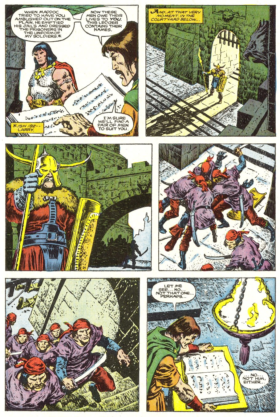 Conan the Barbarian (1970) Issue #187 #199 - English 8