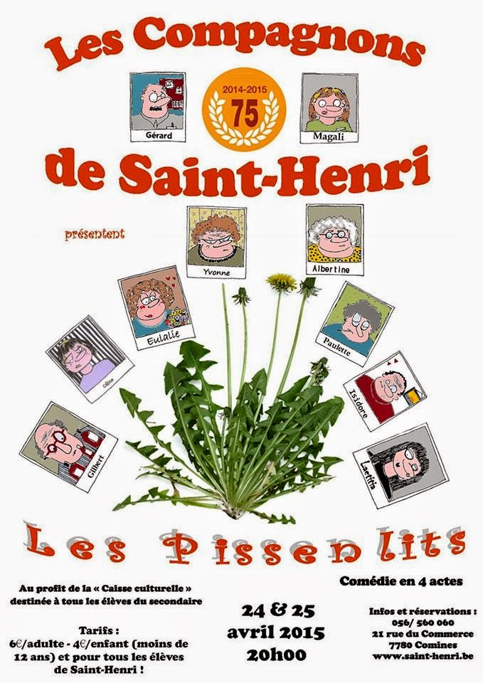 24 et 25 avril les Compagnons de Saint Henri