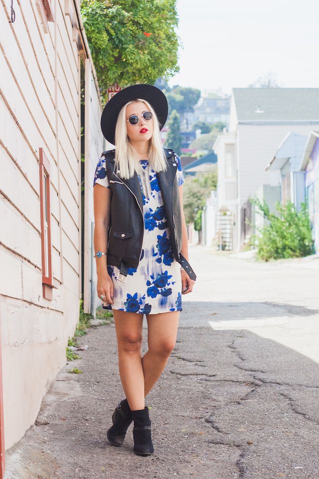 Cool Boho Outfit Idea by Bryn Newman of San Francisco Style Blog, Stone Fox Style. Discover new indie folk music by the Australian band Husky and get style inspiration!