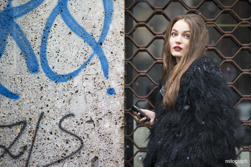mitograph Zuzanna Bijoch After Dolce and Gabbana Milan Fashion Week 2013 2014 Fall Winter Street Style Shimpei Mito