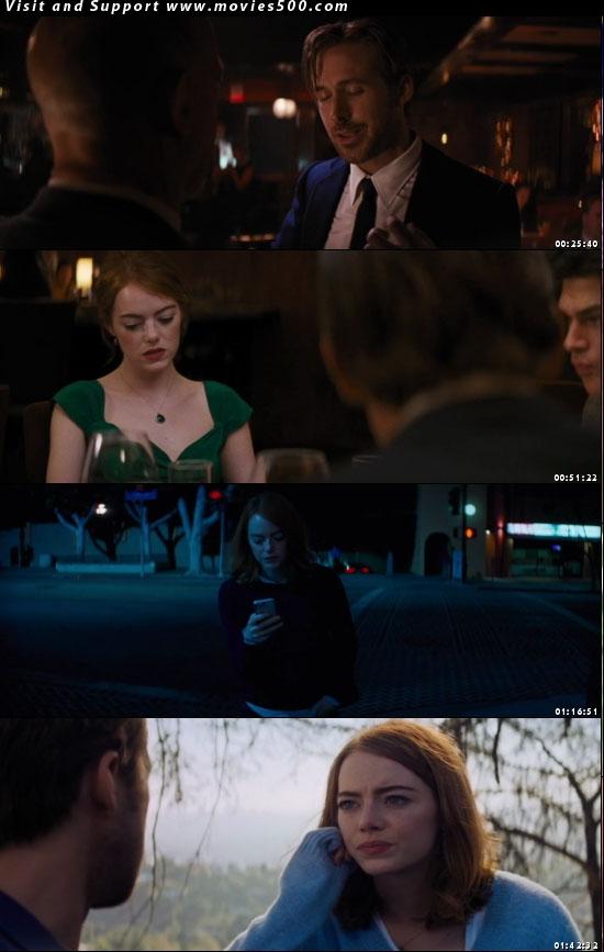 La La Land 2016 Hollywood Movie 300MB Download HD at movies500.com
