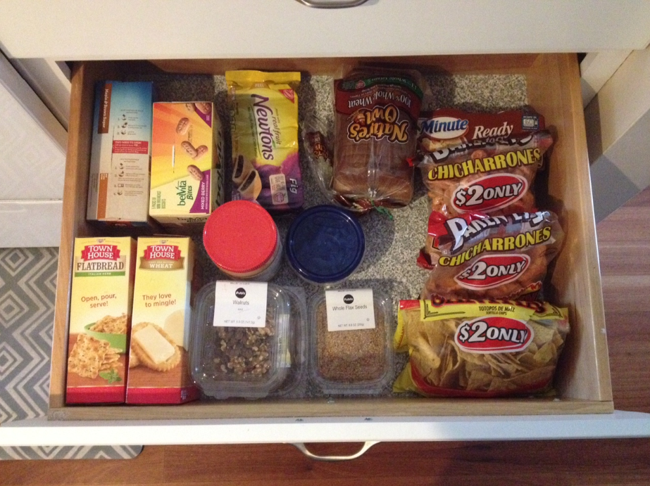 Pantry Drawer #1 - After