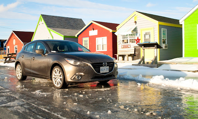 2014 Mazda 3 GT hatchback Fudgy Chicks