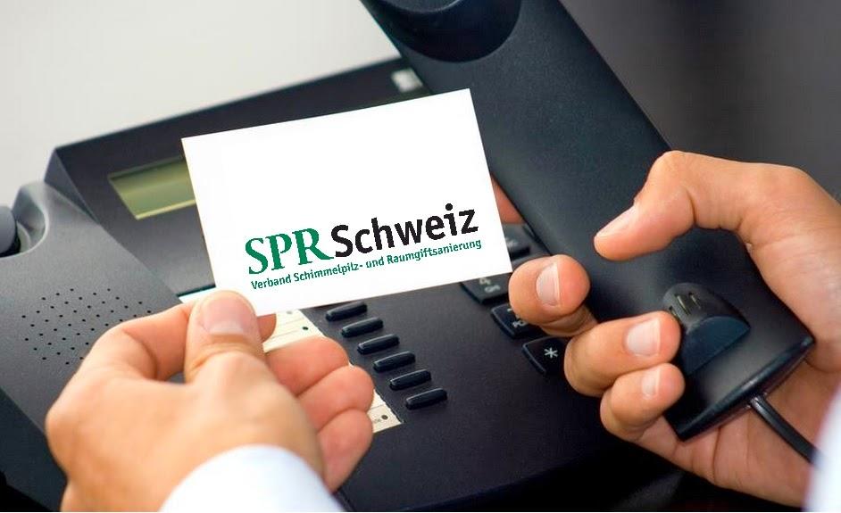 SPR Schweiz- Verband Schimmelpilz und Raumgiftsanierung