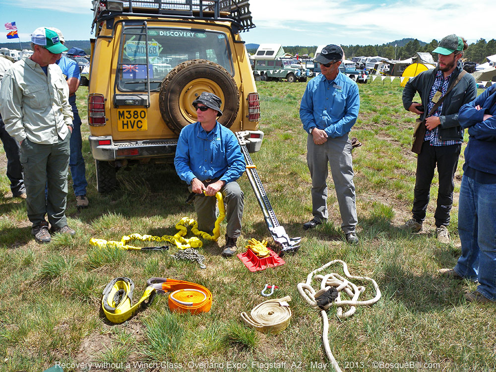 how to get out of mud without a winch