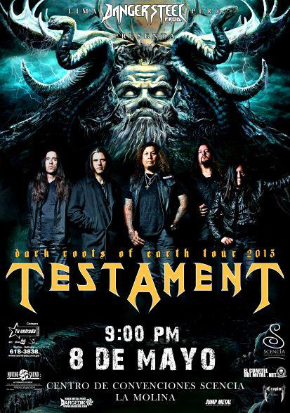 Testament Lima flyer