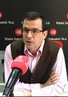 Francesc Manaut entrevistat a Ràdio Sabadell