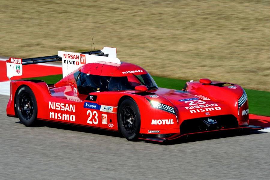 Nissan GT-R LM Nismo LMP1 2015 Front Side 1