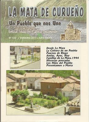 Boletin 122 - Portada - Otoño 2011 por La Mata de Curueño (León)