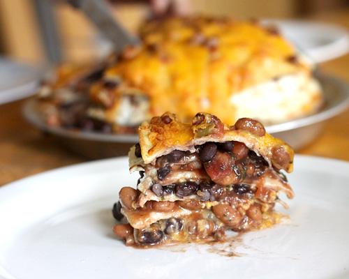 Goofy Mama: Seven Layer Tortilla Pie