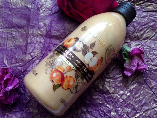 """Молочко для тела с мерцающими частичками """"Яблочное Наслаждение"""" от Yves Rocher отзыв"""