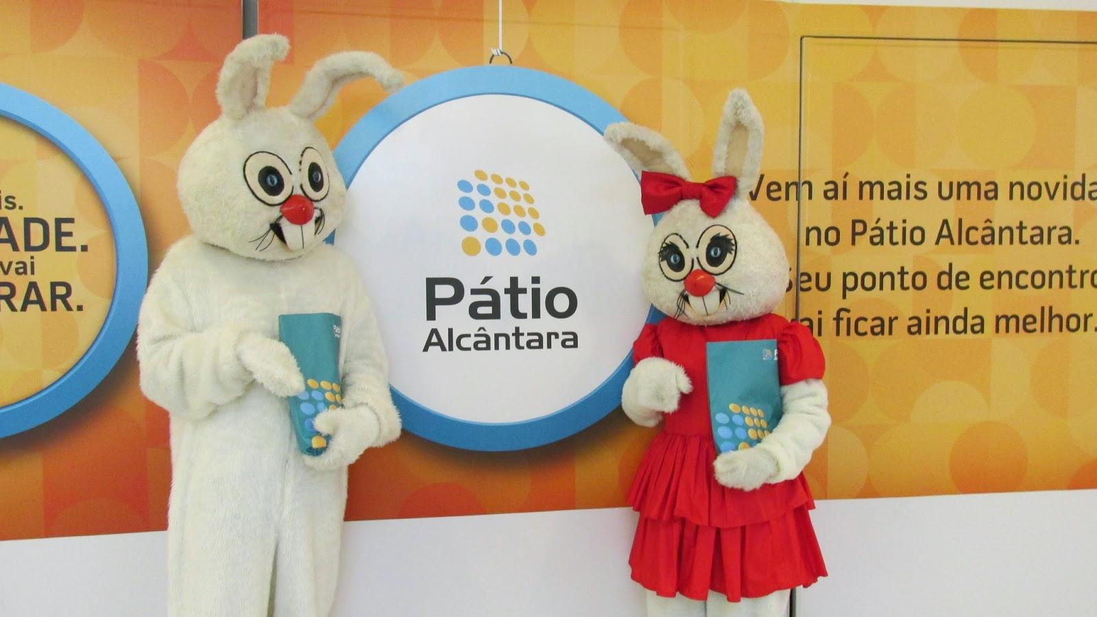 Pátio Alcântara celebra Páscoa de forma animada