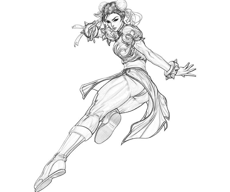 marvel-vs-capcom-chun-li-abilities-coloring-pages