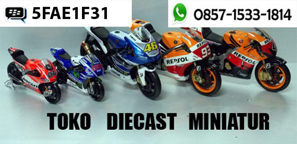 DIECAST MINIATUR MOTOGP | MOTOR | MOBIL