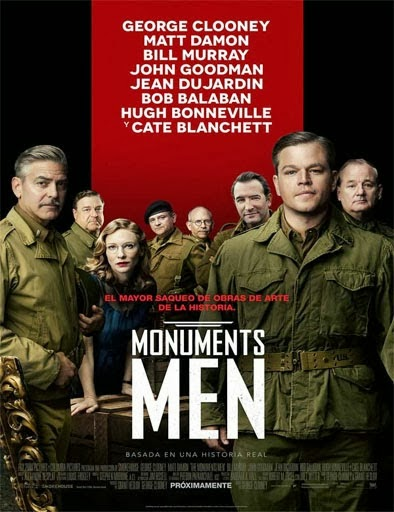 Ver Monuments Men (2014) Online
