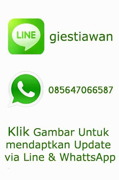 Update Blog Via WhatsApp Dan Line