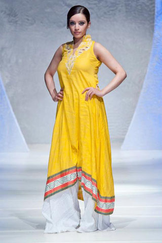 Pakistan Fashion Week Lala Textiles Summer 2012