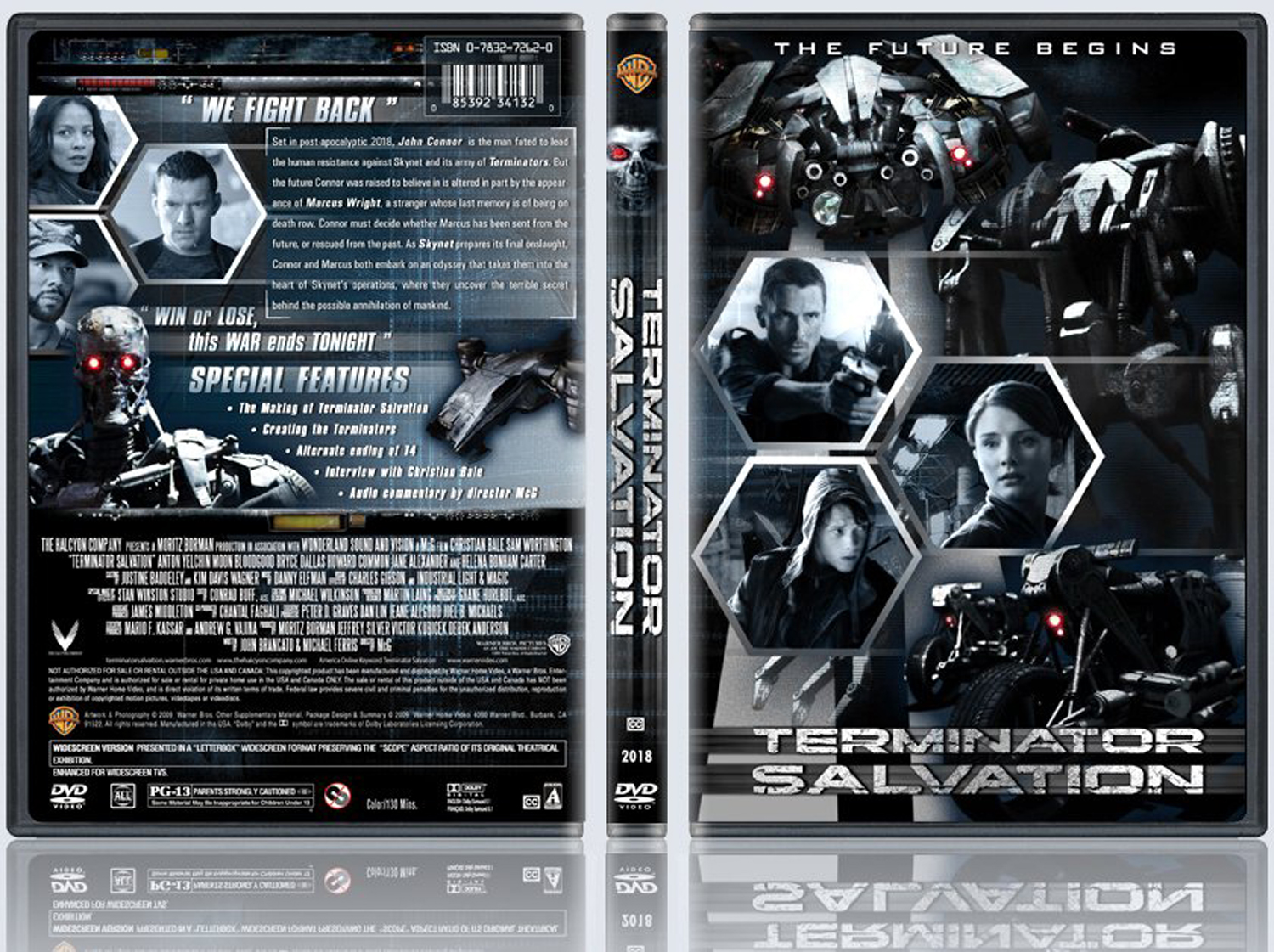 Terminator Salvation DVD Case