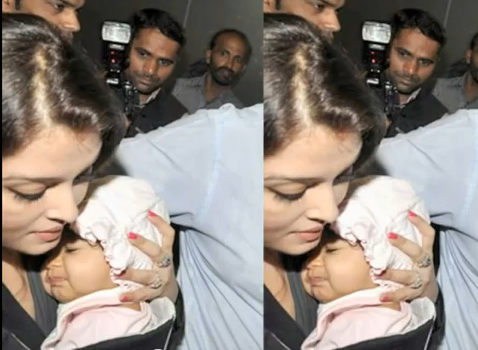 Bollywood News: The First Glimpse Of Aaradhya Bachchan