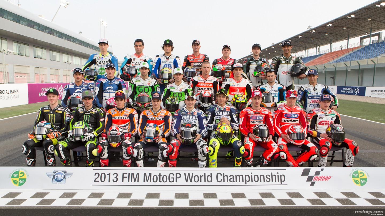 ... MotoGP ayer en la presentación del Gran Premio de Qatar | MotoGP.com
