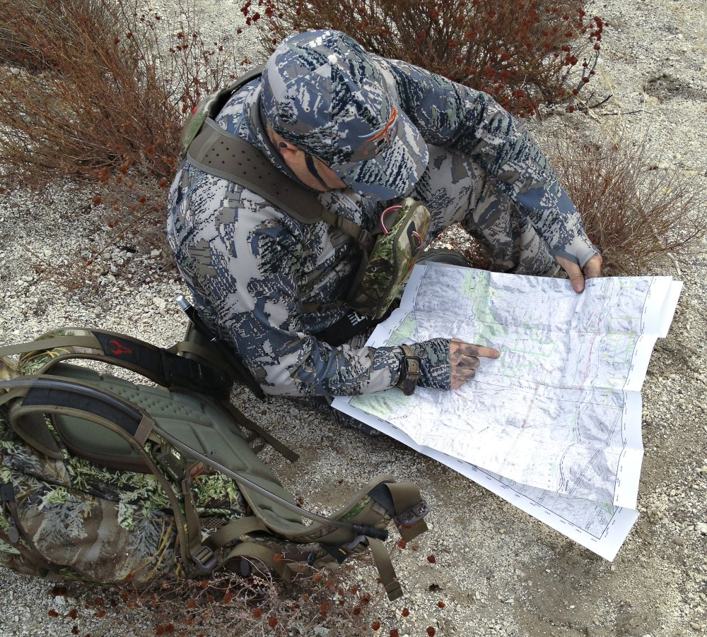 The SoCal Bowhunter Product Review MyTopo Custom Topos And Aerial Maps - Hunting aerial maps