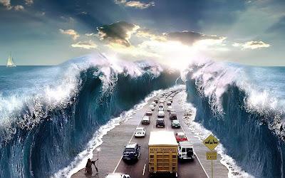 Abriendo el mar - Open sea (Wallpaper o Fondo de 1920x1200px)