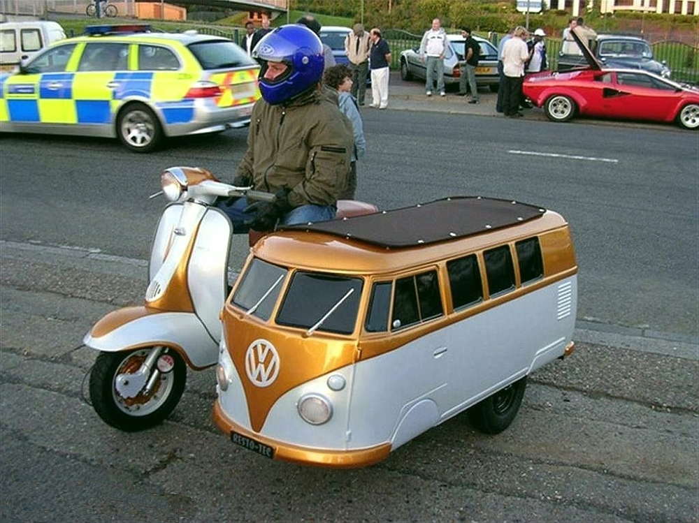 Transpress Nz Motor Scooter And Vw Sidecar