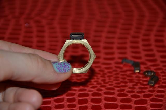 Fake Bling Rings