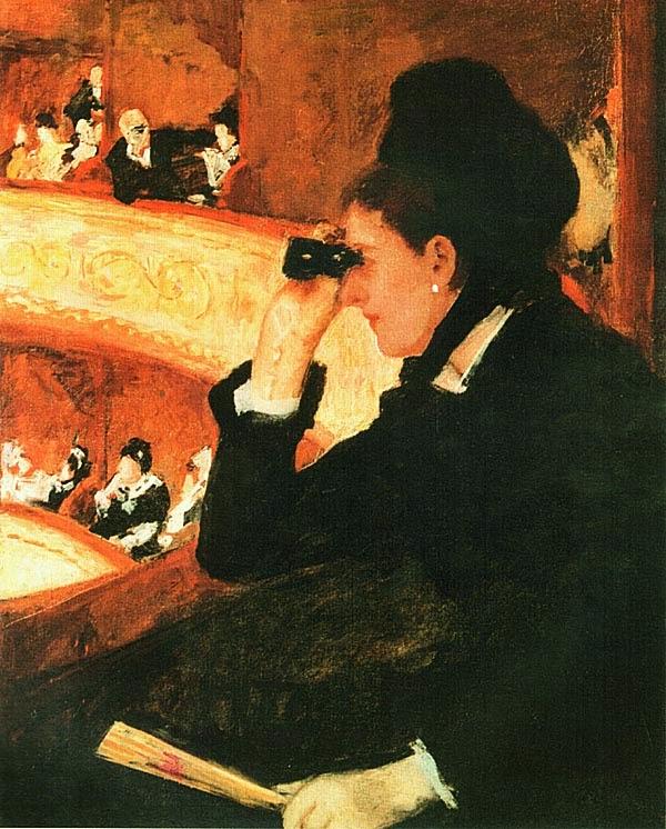 Мэри Кэссет. В Опере. 1880.