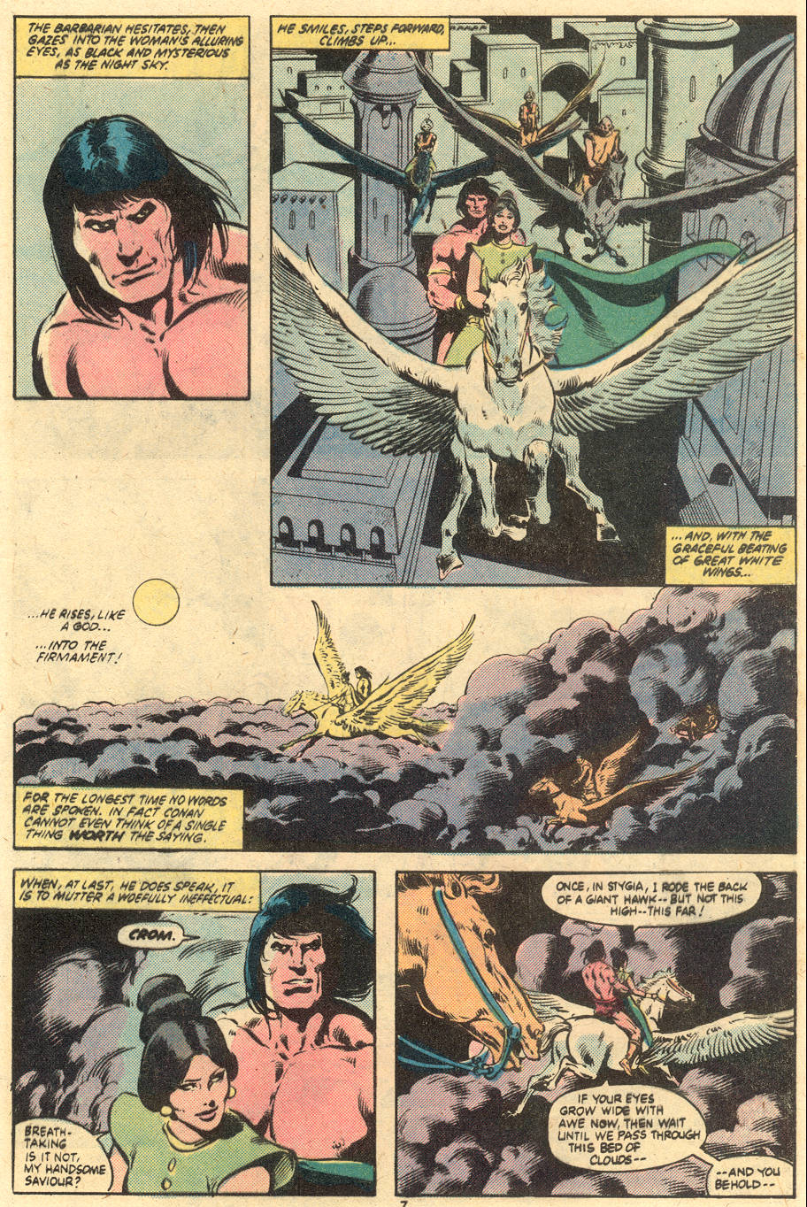 Conan the Barbarian (1970) Issue #121 #133 - English 7