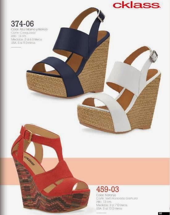 Zapatos Plataforma Cklass PV 2015