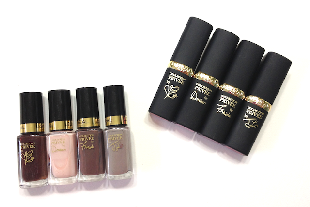 L'Oréal Collection Privée (Official TIFF Festival Collection) - Nail Polish Eva Doutzen Freida J.Lo