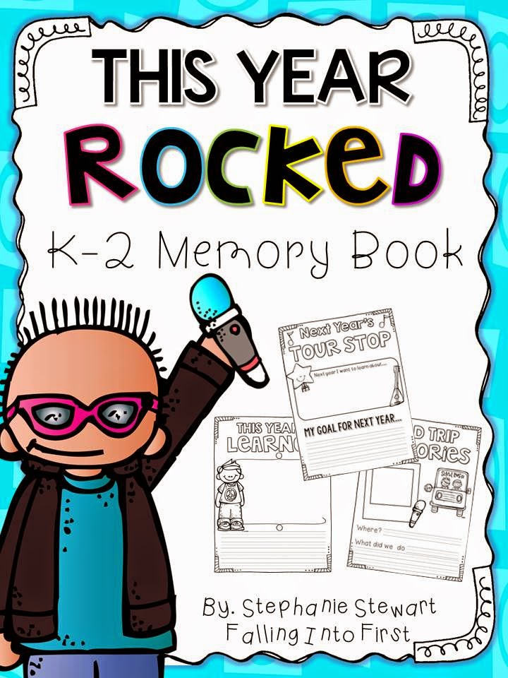 http://www.teacherspayteachers.com/Product/End-Of-Year-Memory-Book-K-2-1251148