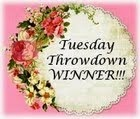 Winner At Tuesday Throwdown Challenge