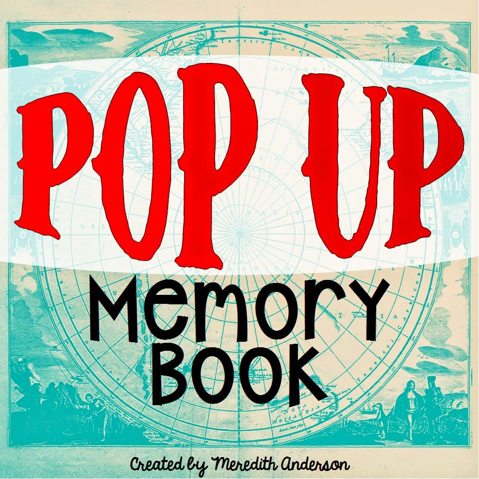 Pop up Memory Book
