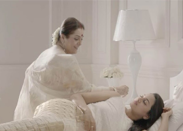 Sonakshi Mother Poonam Fem soap Shoot