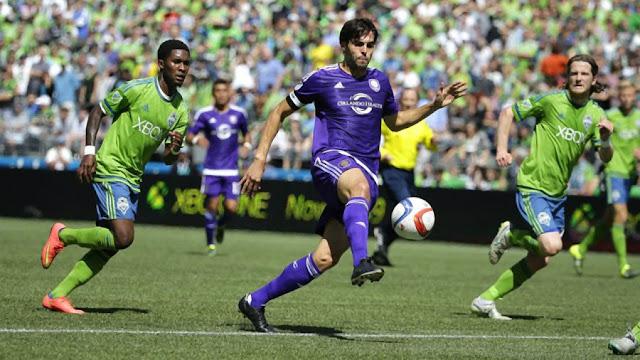 Inefetivo no jogo, Kaká amarga nova derrota com Orlando Cituy, que não vence há quatro rodadas na MLS (Foto: Divulgação)