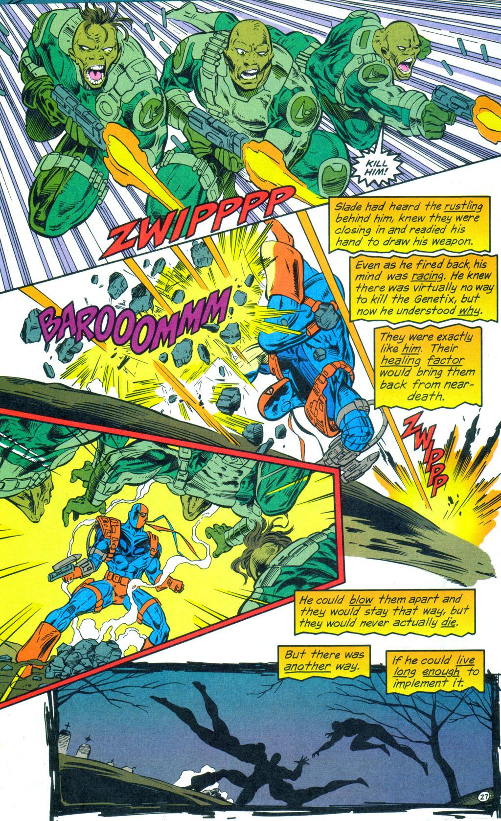 Deathstroke (1991) Annual 3 #3 - English 28