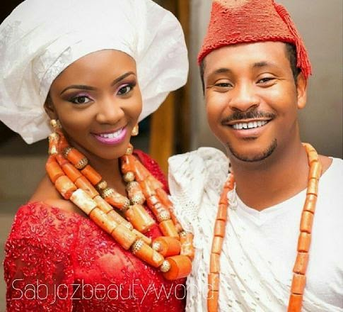 ivie okujaye wedding pictures